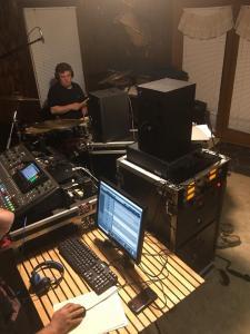 recording at ladybug studio
